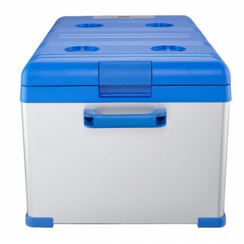 Kомпрессорный автохолодильник ALPICOOL ABS-25 синий (30л, 12/24/220В) 36971684 1