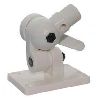 Maritim Поворотное основание антенны C12681M 63 x 91 мм из белой пластмассы