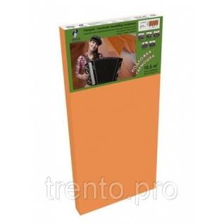 Подложка Гармошка Solid Оранжевая 3мм Солид