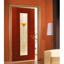Дверное полотно МариаМ Гамма ПУ лак остекленное 600-900 мм