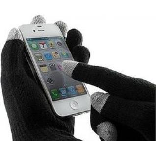 Cariba Перчатки Айфон для сенсорных экранов, орнамент снежинки