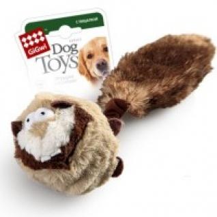"""Игрушка для собак """"Барсук"""" с двумя пищалкой, 26 см GiGwi"""