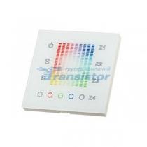Arlight Панель Sens SR-2831AC-RF-IN White (220V,RGB,4зоны)