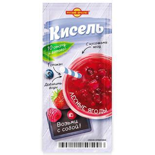 """Русский продукт Кисель моментального приготовления """"Лесные ягоды"""" 25г"""