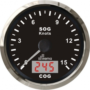 Wema Индикатор скорости GPS Wema IGPS-BS-15 12 В 85 мм