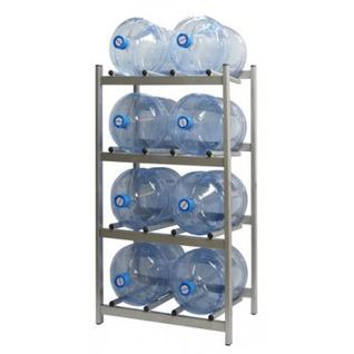 Метал.Мебель KD_Бомис-8 стеллаж для воды бутилир. на 8 тар