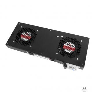 Цмо ЦМО Модуль вентиляторный, 2 вентилятора с терморегулятором, чёрный R-FAN-2T-9005