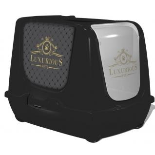 """Moderna Products Туалет-домик """"Trendy cat"""" с угольным фильтром и совком, 50х41х39, Люкс"""