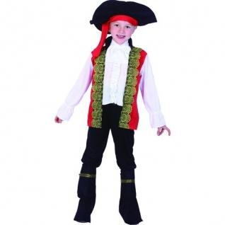 """Костюм """"Пират"""" с красным камзолом, 7-10 лет Snowmen"""