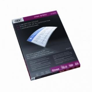 Пленка для ламинирования GBC A4, 75мкм скоростн. 100шт/уп.