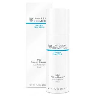 Janssen Mild Creamy Cleanser - Нежная очищающая эмульсия