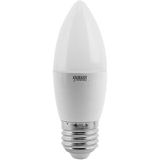 Gauss Лампа Gauss LED Elementary Candle 6W E27 4100K 1/10/50