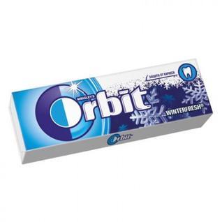 Жевательная резинка Orbit Винтерфреш мультипак, 10шт, 136г