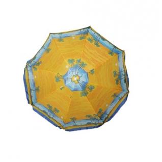 Пляжный зонт (желтый), диаметр 180 см Shenzhen Toys