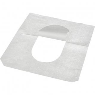 Одноразовые покрытия на унитаз Luscan Professional 1/2 слож 200 шт 10пач/уп