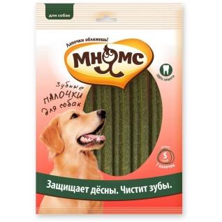 """Мнямс Мнямс """"Зубные палочки для собак"""" размер S, 7 шт х 24г, 12 см"""