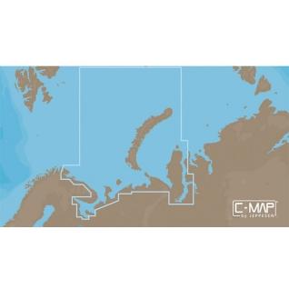 Карта C-MAP RS-N202 - Северо-Западное побережье России C-MAP
