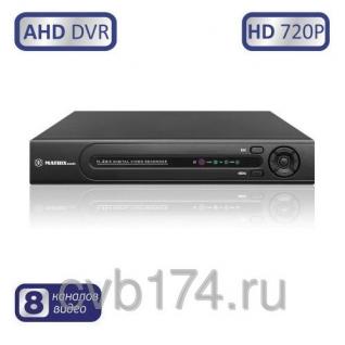 8-канальный AHD видеорегистратор MATRIX M-8AHD720P Prime