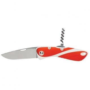 Wichard Нож моряка складной красно-белый со штопором Wichard Aquaterra 10154 115/195 мм
