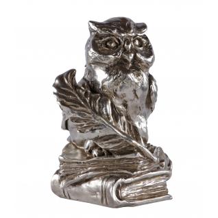Статуэтка «Магистр» (декоративная скульптура) (Античное серебро)