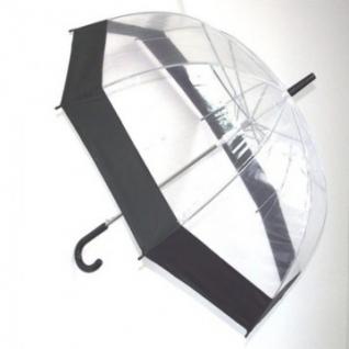 Зонт прозрачный купол черн. Эврика, 91668
