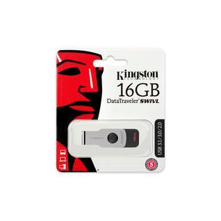 Флеш-память Kingston DataTraveler Swivl, 16Gb, USB 3.1, черны,DTSWIVL/16GB