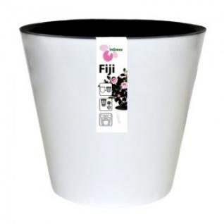 Горшок для цветов Фиджи D 160 мм/1,6 л белый