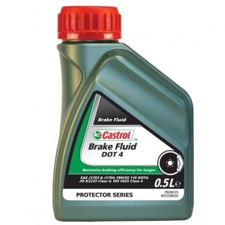 Тормозная жидкость CASTROL Brake Fluid DOT 4 0,5 литра