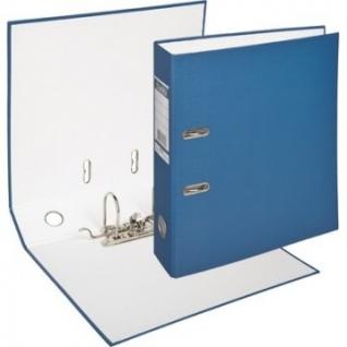 Папка-регистратор BANTEX ECONOMY, 1446-01, б/мет.уг., 70мм, т.-синий