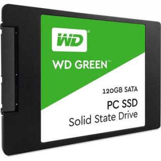 Жесткий диск Western Digital SSD GREEN 120Gb SSD(WDS120G2G0A)