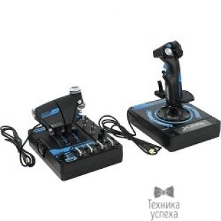 """Saitek PC Джойстик Saitek X56 Rhino H.O.T.A.S. Pro Flight System (SCB432210002/01/1) PCAmc62+ подарок от """"War Thunder"""""""