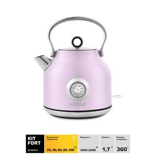 KITFORT Чайник Kitfort КТ-673-4, розовый