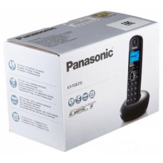 Радиотелефон Panasonic KX-TGB210RUB черный