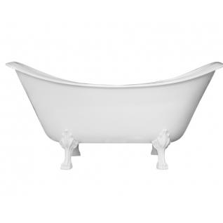 Отдельно стоящая ванна Эстет Скарлетт белая
