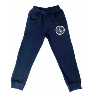 Штаны для мальчика темно-синие