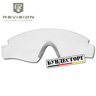 Revision Линза прозрачная Revision Sawfly Max-Wrap, L, прозрачного цвета