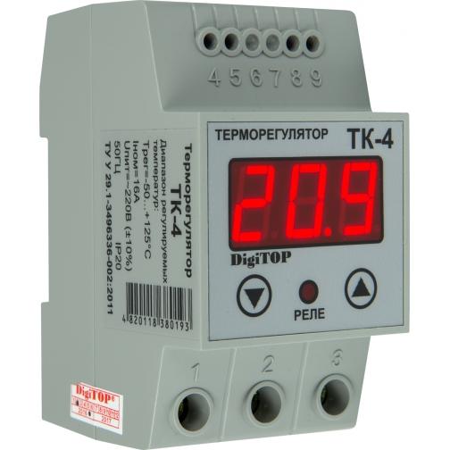 Терморегулятор DigiTOP ТК-4 (крепление на DIN-рейку) 6775757