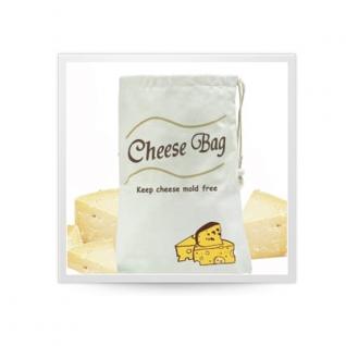 Хранение продуктов, овощей. Мешочки для овощей. Обработка продуктов. Potter Ind. Ltd. Мешочек для хранения сыра Cheese bag NMKC066/CV