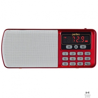 Perfeo Perfeo радиоприемник цифровой ЕГЕРЬ FM+ 70-108МГц/ MP3/ питание USB или BL5C/ красный (i120-RED)