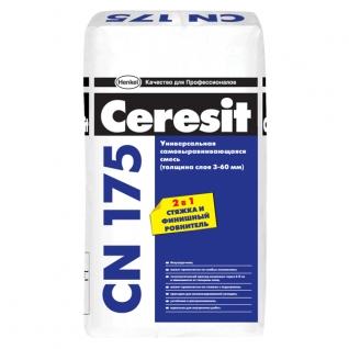 Пол самовыравнивающийся CN-175 25 кг Ceresit