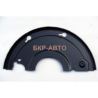 Щит тормоза правый полуприцепа МАЗ 9758-3502150