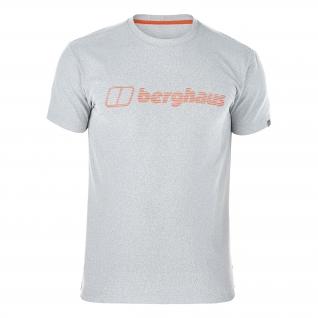 Berghaus Футболка Berghaus Voyager, цвет серо-оранжевый