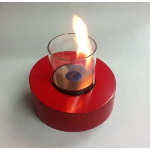 Биокамин Glass Ovale Rosso 853125