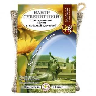 Мыло - мочалка Бронтозавр - Саки