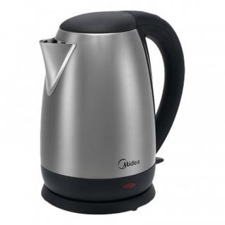 Чайник Midea МК-8033, 1.7 л, 1850-2200 Вт, нерж. сталь