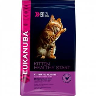 Eukanuba Eukanuba корм для котят, беременных и кормящих кошек (Kitten Healthy Start) 5кг.