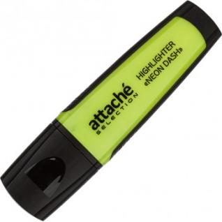 Маркер выделитель текста Attache Selection Neon Dash 1-5мм желтый