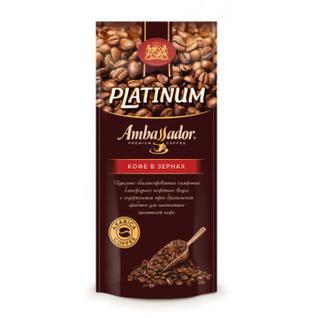 Кофе Ambassador Platinum в зернах, 1кг