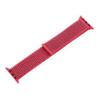 Ремешок COTEetCI W17 Magic Tape Band (WH5225-MF-40) для Apple Watch 40мм/ 38мм Hibiscus Pink Гибискус Розовый