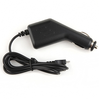 5V/1A Micro 5-Pin Car Charger for Phone/Tablet PC Black